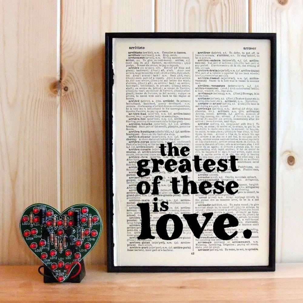 and the greatest of these is love - 1000×1000