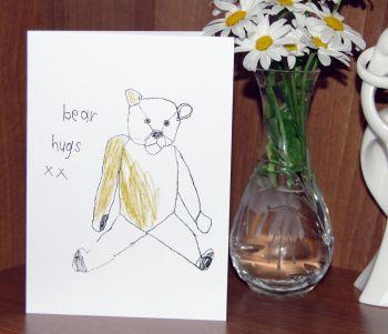 'Bear Hugs' - Greeting Card