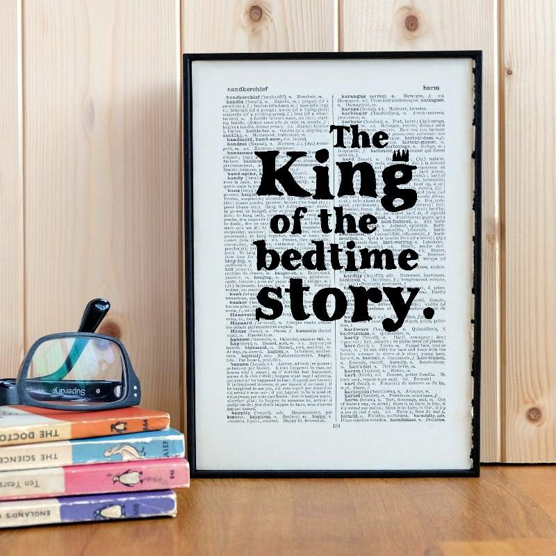 lovely lane gifts bookishly bedtime story king