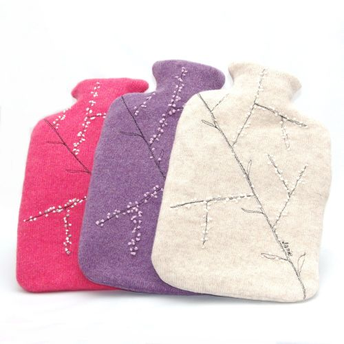 Janie Withers - Blossom Hot Water Bottle