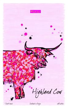 Scott Inness - Highland Cow Tea Towel