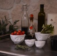 White Porcelain Bowl Collection by Tassen from Lovely Lane
