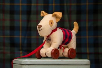 Hamish the Pull-a-long Terrier from Ragtales