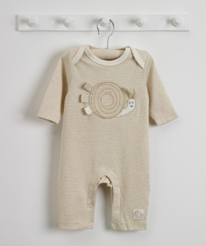 Spots & Stripes Striped Sleepsuit