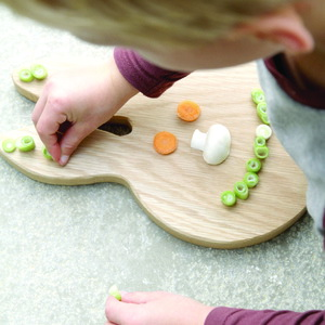 bunny ears chopping board 2