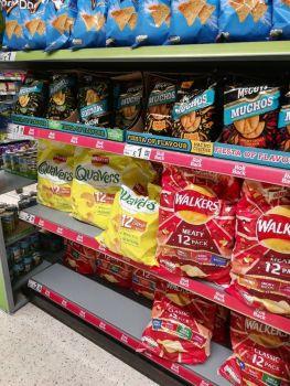 Supermarket crisps