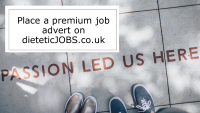 Place a premium job advert on dieteticJOBS.co.uk