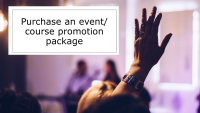 Purchase an event/course promotion package