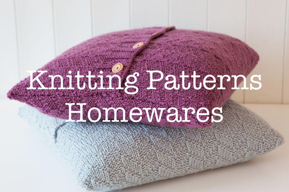 <!--004-->Knitting Patterns - Homewares