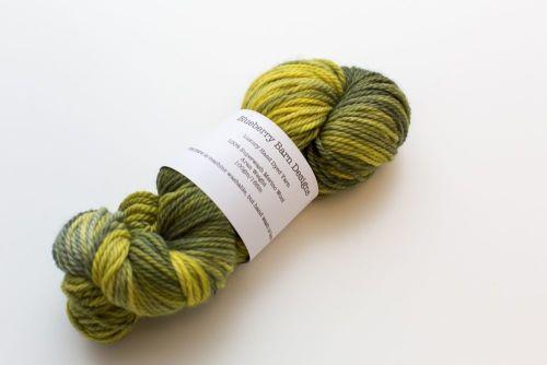 Superwash Merino Wool - Aran - Lime Tree