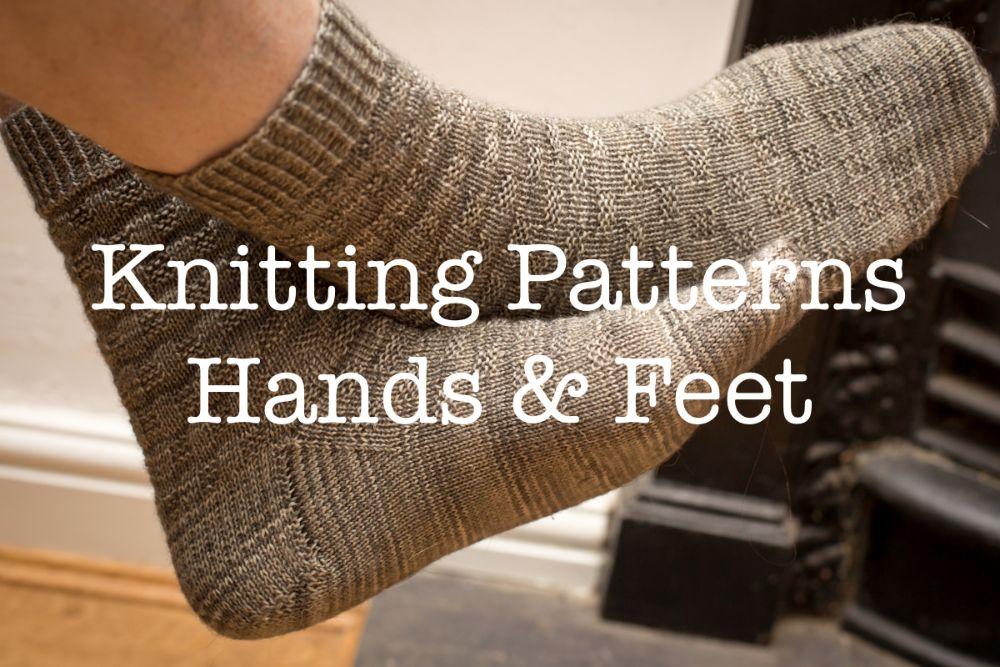 <!--006-->Knitting Patterns - Hands &amp; Feet