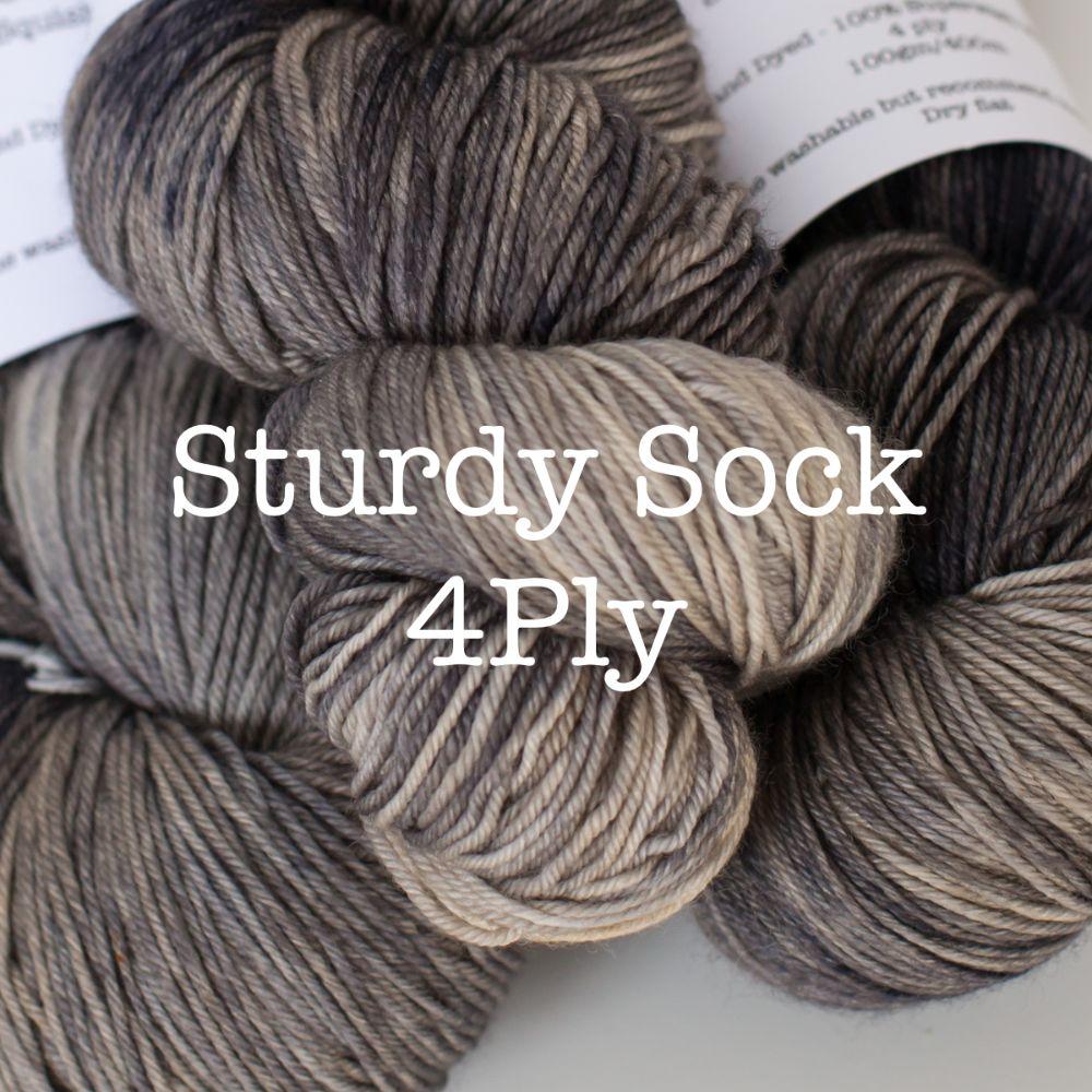 <!--001-->Sturdy Sock - Wool/Nylon Blend 4ply