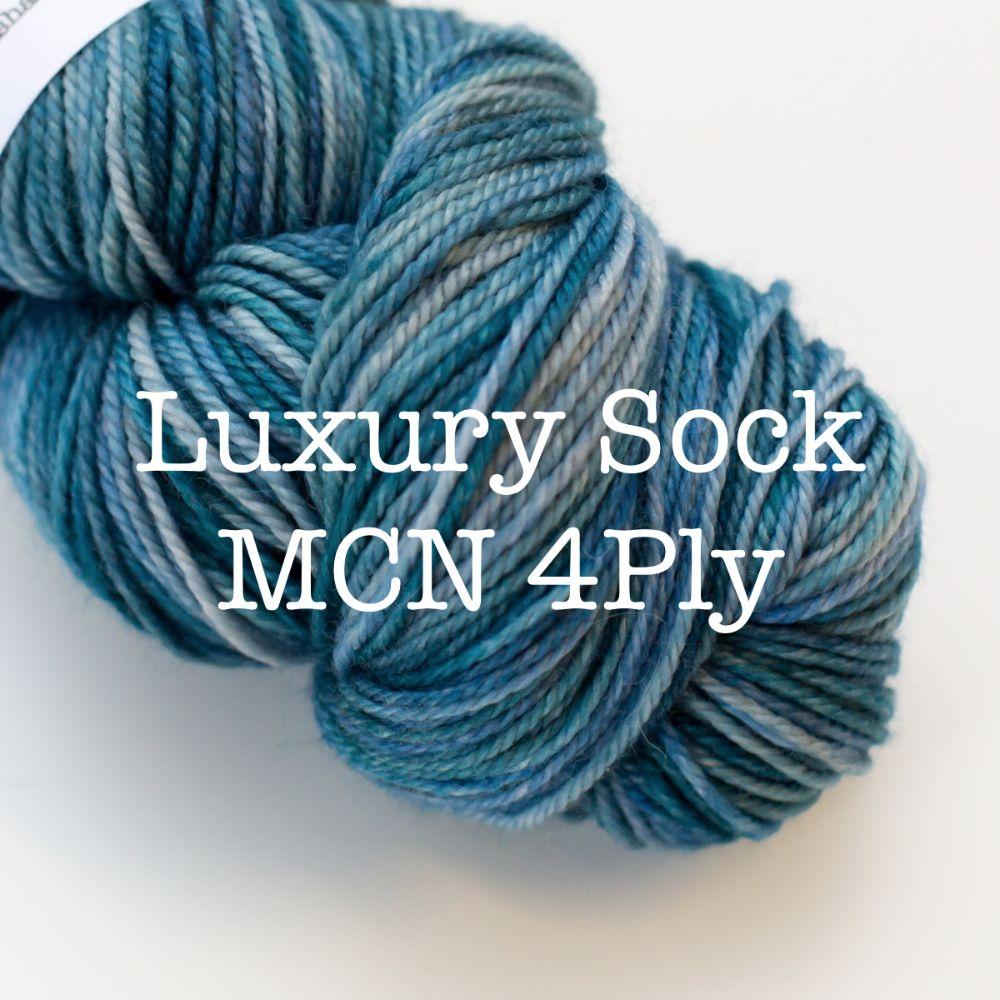<!--002-->Luxury Sock - MCN Blend 4Ply