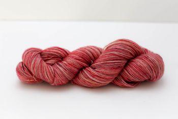 Hand Dyed Yarn - British BFL 4ply 100% Wool - Summer Berries