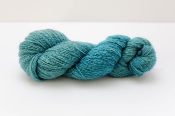 Hand Dyed Yarn - British BFL/Masham 4ply 100% Wool - Cerulean