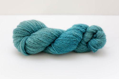 Hand Dyed Yarn - British BFL/Masham 4ply 100% Wool - Cerulean