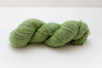 Hand Dyed Yarn - British BFL/Masham 4ply 100% Wool - Chartreuse