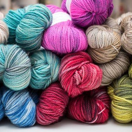 <!-- 001 -->Hand Dyed Yarn