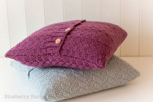 Beatrice Mock Cable Aran Cushion Cover - Knitting Pattern