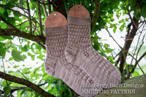 Basketry Socks - three sizes  - Knitting Pattern