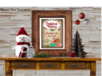 Christmas Bakery Gingerbread & Cakes Sign