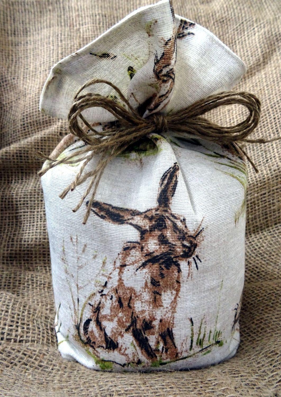Countryside Animal Print Fabric Doorstop
