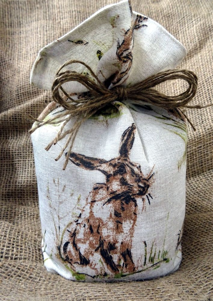 Countryside Animal Print Fabric Doorstop