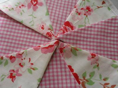 Cath Kidston Ikea Rosali & Pink Gingham Mini Bunting