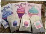 Cup of Tea And a Cupcake Novelty Tea Bag Envelope & Tea Bag