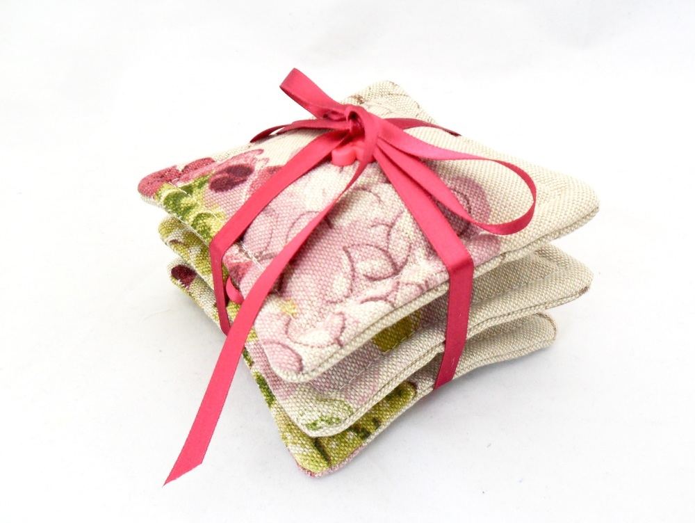 Three lavender filled sachets