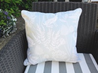 Hare print cushion