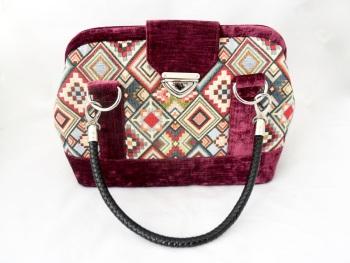 Tapestry  'Mary Poppins' style handbag
