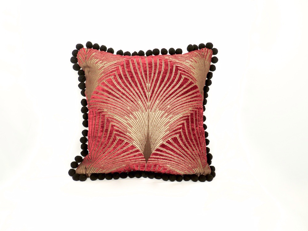 Art Deco style cushion