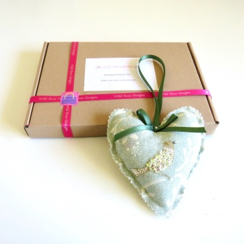 Make your own Lavender heart kit