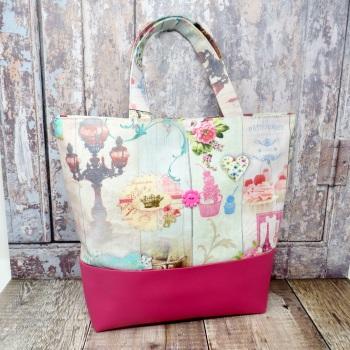 Pink Paris-themed grab bag