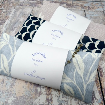 Lavender and flax eye pillow