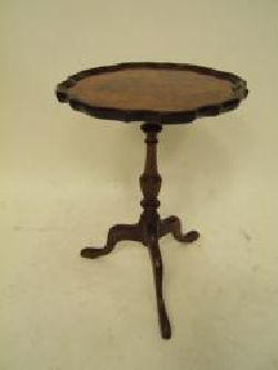 English Walnut Wine Table