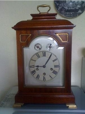 Classic English Bracket Clock by Philip Haas and Son
