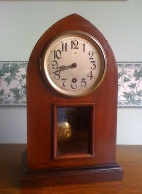 English Victorian Lancet clock