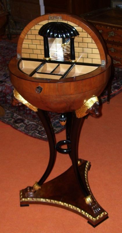 Globe side-table