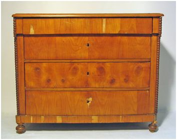 Cherry chest - before