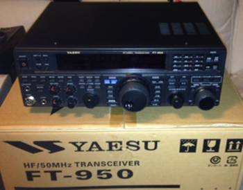 Yaesu FT950 HF/50Mhz transceiver