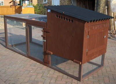Chicken Coop and Run - Mary