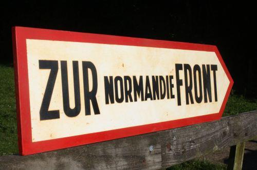 Zur Normandie Front
