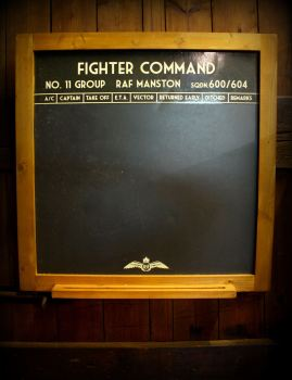 Fighter Command Slate Chalkboard
