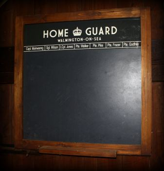 Home Guard Slate Chalkboard