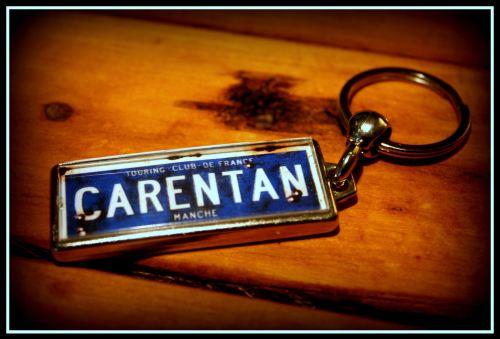 Carentan Keyring