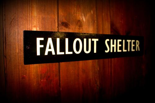Fallout Shelter door plaque