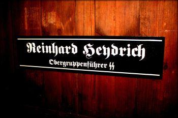 Reinhard Heydrich Door Plaque