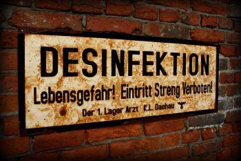 Dachau Desinfektion